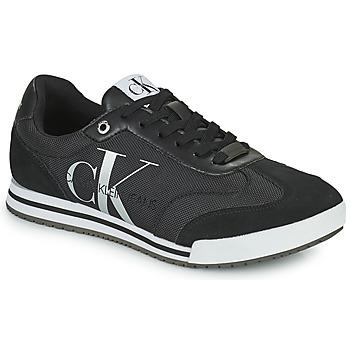 Topánky Muži Nízke tenisky Calvin Klein Jeans LOW PROFILE SNEAKER LACEUP PES Čierna