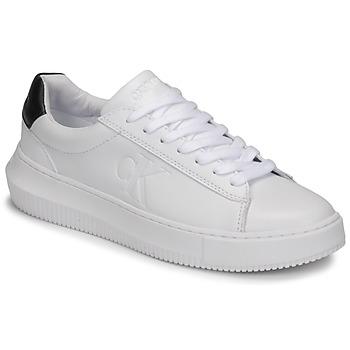 Topánky Ženy Nízke tenisky Calvin Klein Jeans CHUNKY SOLE SNEAKER LACEUP LTH Biela