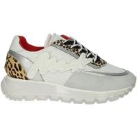 Topánky Ženy Nízke tenisky Meline 1700 White/Silver