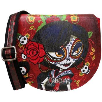 Tašky Ženy Tašky cez rameno Catrinas BD-20-CT Rojo