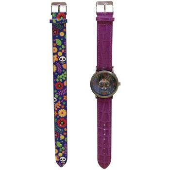 Hodinky & Bižutéria Dievčatá Analógové hodinky Catrinas W-01-CT Morado