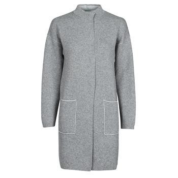 Oblečenie Ženy Kabáty Benetton 1132E9071-507 Šedá
