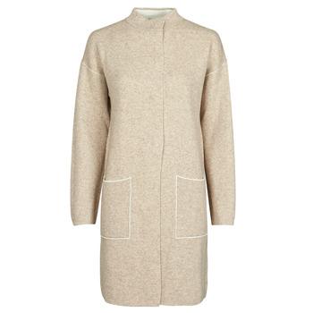 Oblečenie Ženy Kabáty Benetton 1132E9071-62U Béžová