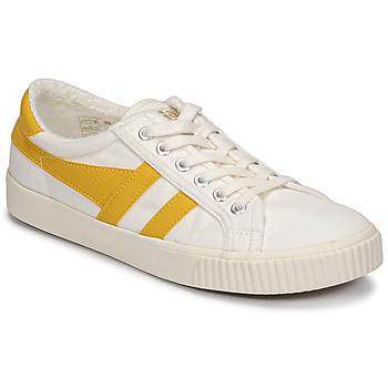 Topánky Ženy Nízke tenisky Gola TENNIS MARK COX Béžová / Žltá