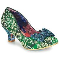 Topánky Ženy Lodičky Irregular Choice DAZZLE RAZZLE Zelená / Modrá