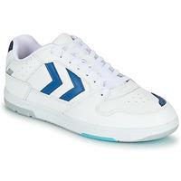 Topánky Muži Nízke tenisky Hummel POWER PLAY Biela / Modrá