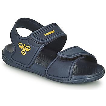 Topánky Deti Športové sandále Hummel PLAYA JR Modrá
