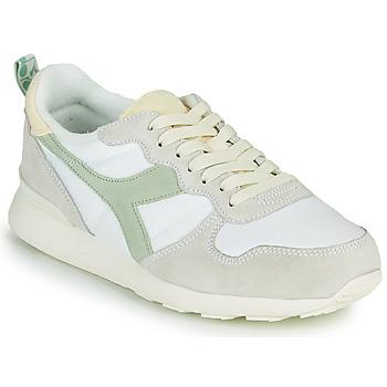 Topánky Ženy Nízke tenisky Diadora CAMARO ICONA WN Biela / Zelená