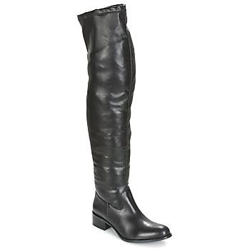 Topánky Ženy Vysoké čižmy Betty London GLAMOU Čierna