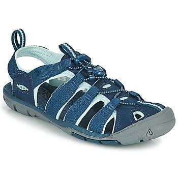 Topánky Ženy Športové sandále Keen CLEARWATER CNX Modrá
