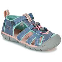 Topánky Dievčatá Športové sandále Keen SEACAMP II CNX Šedá / Ružová