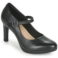 Topánky Ženy Lodičky Clarks AMBYR SHINE Čierna