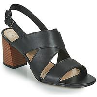Topánky Ženy Sandále Clarks JOCELYNNE BAO Čierna