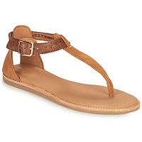 Topánky Ženy Sandále Clarks KARSEA POST Hnedá / Ťavia hnedá