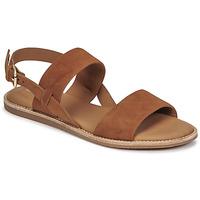 Topánky Ženy Sandále Clarks KARSEA STRAP Ťavia hnedá