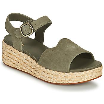 Topánky Ženy Sandále Clarks KIMMEI WAY Kaki