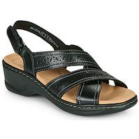Topánky Ženy Sandále Clarks LEXI PEARL Čierna