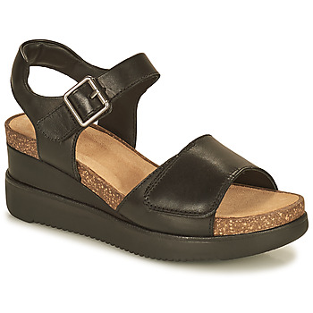 Topánky Ženy Sandále Clarks LIZBY STRAP Čierna