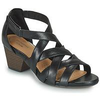 Topánky Ženy Sandále Clarks LORENE POP Čierna