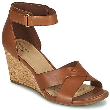 Topánky Ženy Sandále Clarks MARGEE GRACIE Hnedá