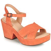 Topánky Ženy Sandále Clarks MARITSA70STRAP Koralová
