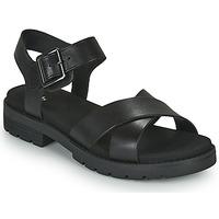 Topánky Ženy Sandále Clarks ORINOCO STRAP Čierna