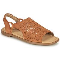 Topánky Ženy Sandále Clarks REYNA SWIRL Ťavia hnedá