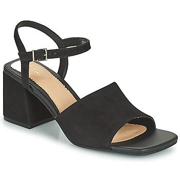 Topánky Ženy Sandále Clarks SHEER65 BLOCK Čierna