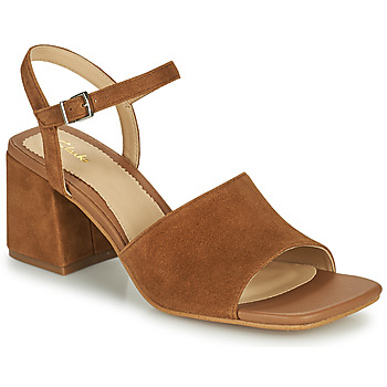 Topánky Ženy Sandále Clarks SHEER65 BLOCK Ťavia hnedá
