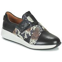 Topánky Ženy Nízke tenisky Clarks UN RIO STRAP Čierna