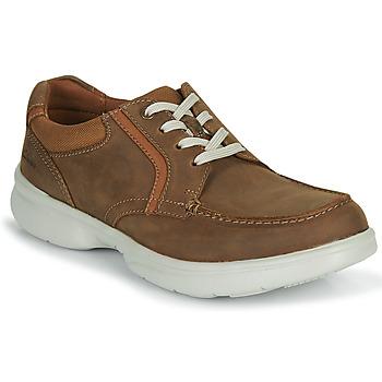 Topánky Muži Derbie Clarks BRADLEY VIBE Béžová