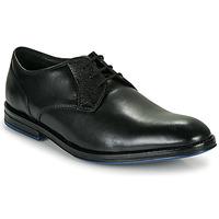 Topánky Muži Derbie Clarks CITISTRIDELACE Čierna