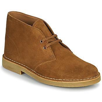 Topánky Muži Polokozačky Clarks DESERT BOOT 2 Hnedá