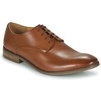 Topánky Muži Derbie Clarks STANFORD WALK Hnedá
