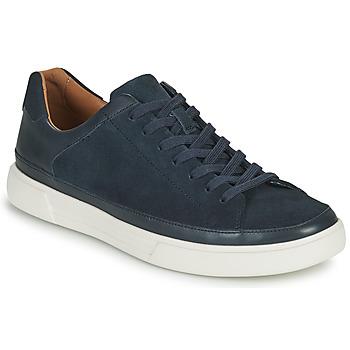 Topánky Muži Nízke tenisky Clarks UN COSTA TIE Modrá