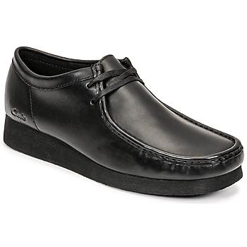 Topánky Muži Derbie Clarks WALLABEE 2 Čierna