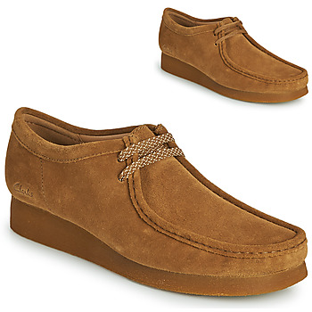 Topánky Muži Derbie Clarks WALLABEE 2 Hnedá