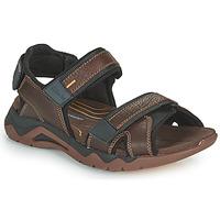 Topánky Muži Športové sandále Clarks WAVE2.0 JAUNT Hnedá