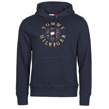 Oblečenie Muži Mikiny Tommy Hilfiger ICON COIN HOODY Námornícka modrá