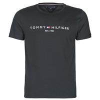 Oblečenie Muži Tričká s krátkym rukávom Tommy Hilfiger CORE TOMMY LOGO Čierna