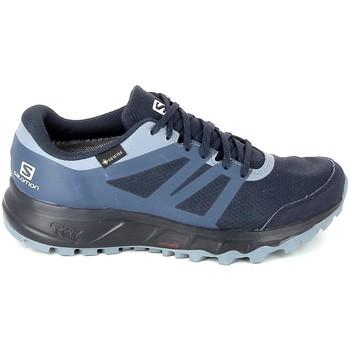 Topánky Ženy Bežecká a trailová obuv Salomon Trailster 2 GTX Marine Modrá