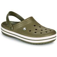 Topánky Nazuvky Crocs CROCBAND Kaki
