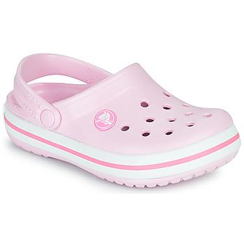 Topánky Dievčatá Nazuvky Crocs CROCBAND CLOG K Ružová