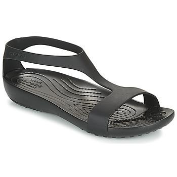 Topánky Ženy Sandále Crocs CROCS SERENA SANDAL W Čierna