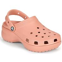 Topánky Ženy Nazuvky Crocs CLASSIC PLATFORM CLOG W Ružová