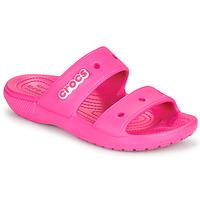 Topánky Ženy Sandále Crocs CLASSIC CROCS SANDAL Ružová