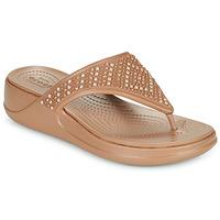 Topánky Ženy Žabky Crocs CROCS MONTEREY SHIMMER WGFPW Bronzová