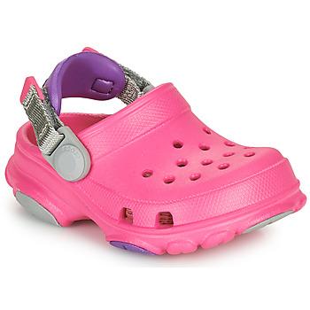 Topánky Dievčatá Nazuvky Crocs CLASSIC ALL-TERRAIN CLOG K Ružová