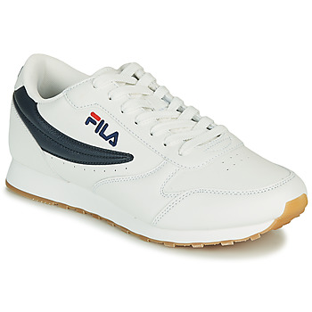 Topánky Muži Nízke tenisky Fila ORBIT LOW Biela / Modrá