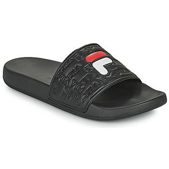 Topánky Muži športové šľapky Fila BAYWALK SLIPPER Čierna